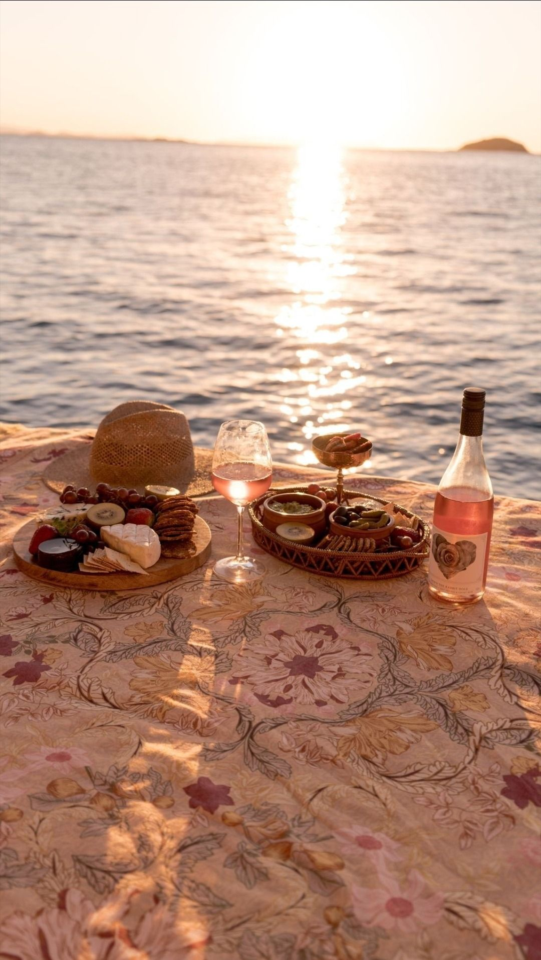 Iphone Aesthetics 159 Sunset Picnic Picnic En La Playa