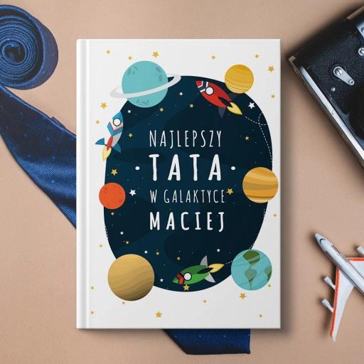 Notatnik Najlepszy Tata W Galaktyce Book Cover Pinterest