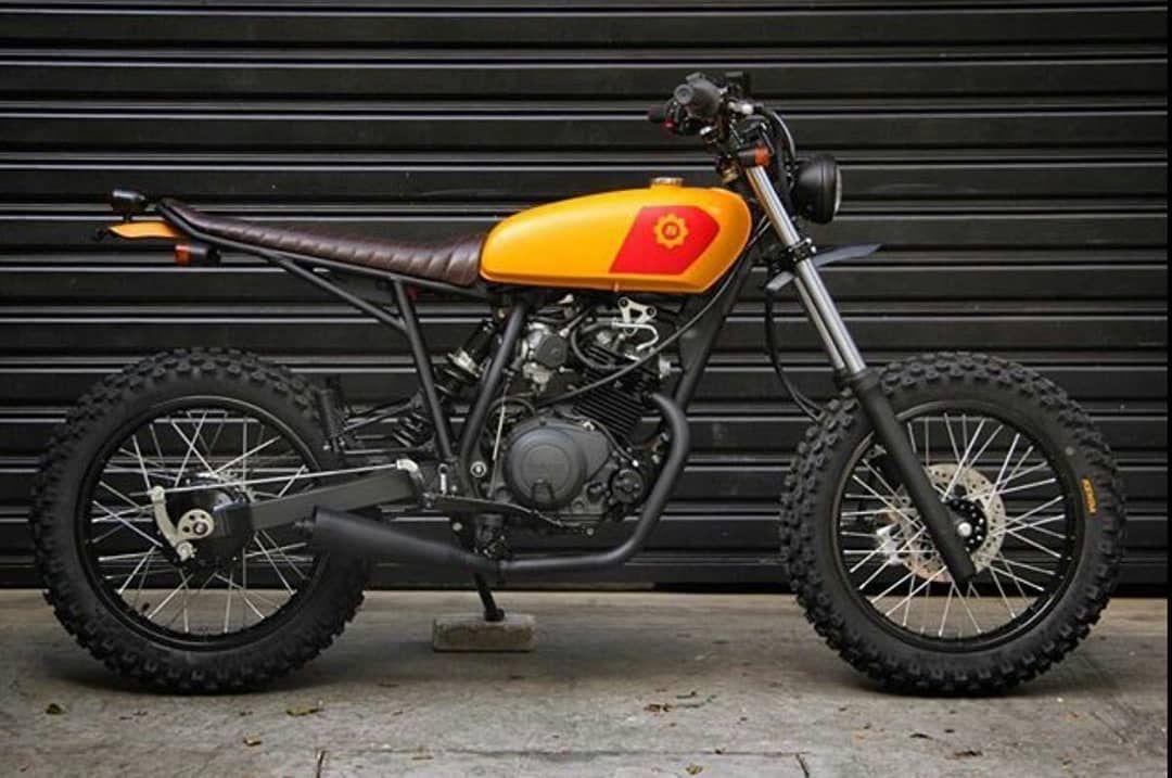 Cg125cc On Instagram Scrambler 125cc Cg125cc Tracker Motorcycle Yamaha Cafe Racer Scrambler