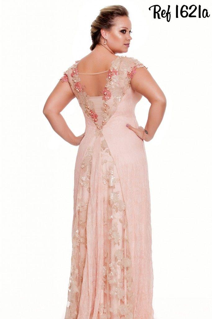 Coleção Diamante - Vestidos Plus Size - Aiza Collection | boda ...