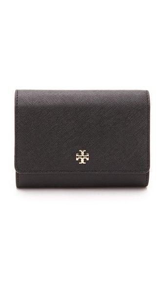 20cf14471d2d Tory Burch Robinson Medium Flap Wallet