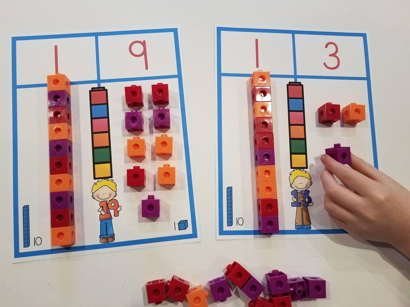Place Value Centers For Kindergarten