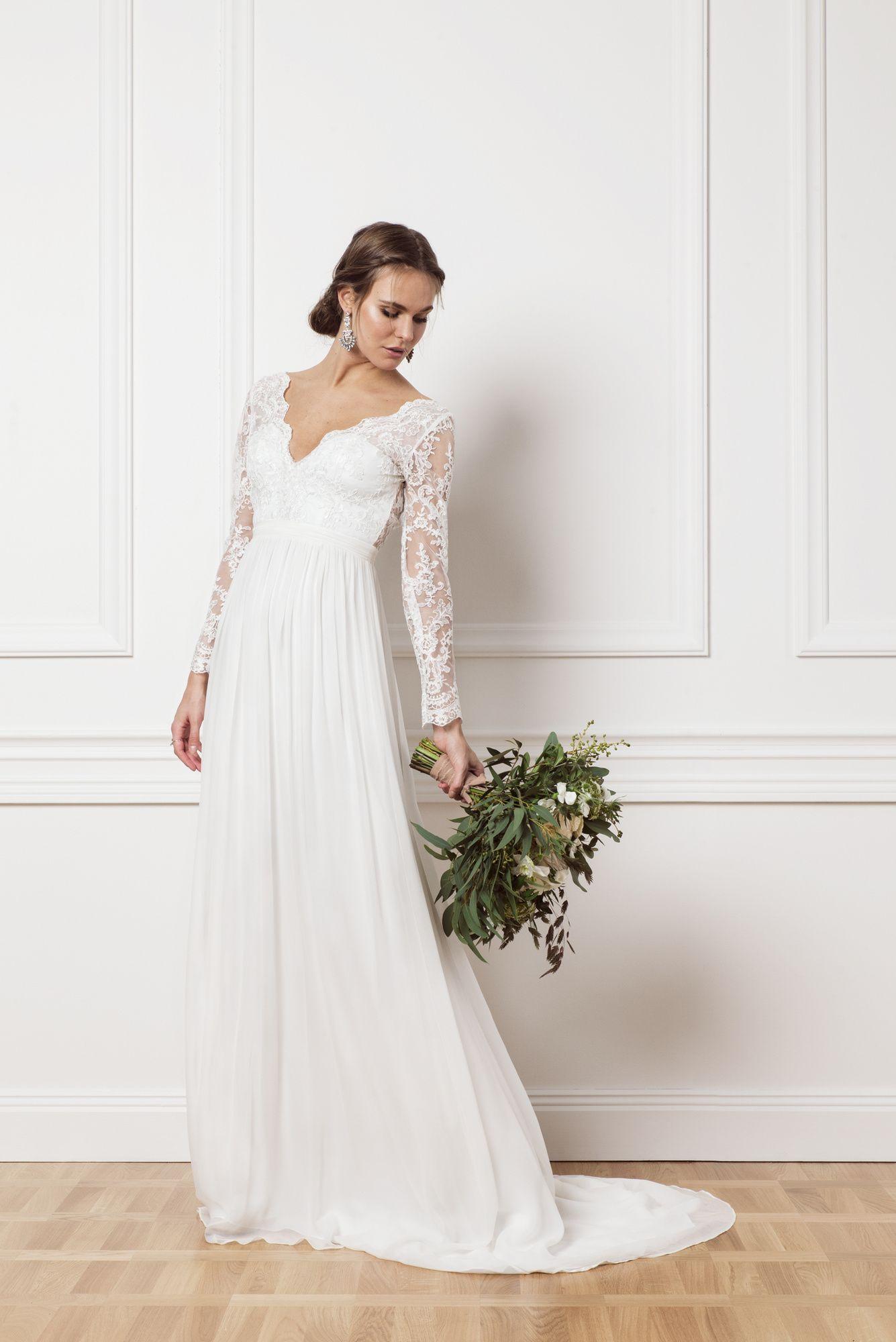 Wedding dress without train  Product image Iris Without Train  Wedding  Pinterest  Iris