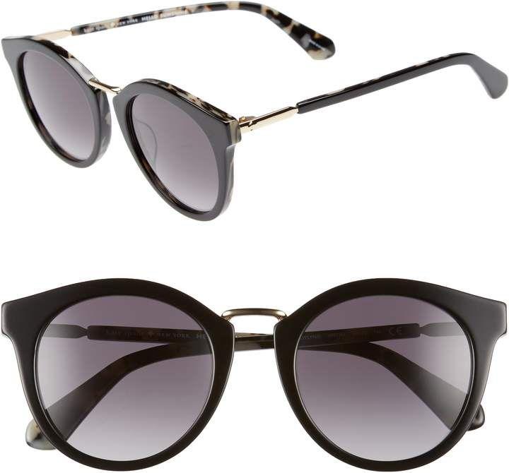 d6756b19ba Kate Spade Joylyn 50mm Round Sunglasses
