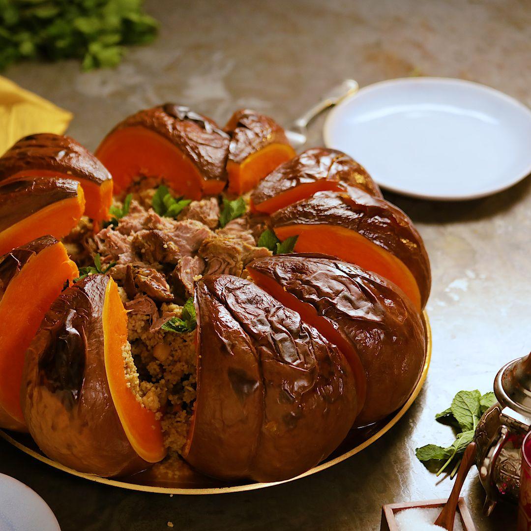 Tagine In A Pumpkin ~ Recipe