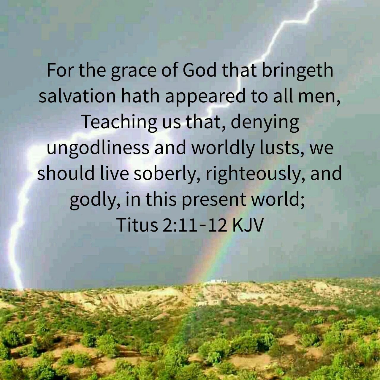 Titus 2:11-12 | The Word | Pinterest | Bible, Verses and Scriptures