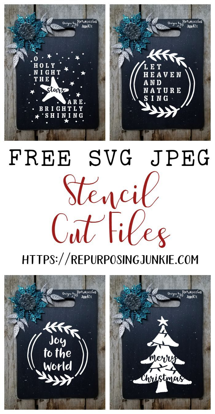 Photo of Free Winter Christmas SVG JPEG Cut Files #Files #Free #Christmas …