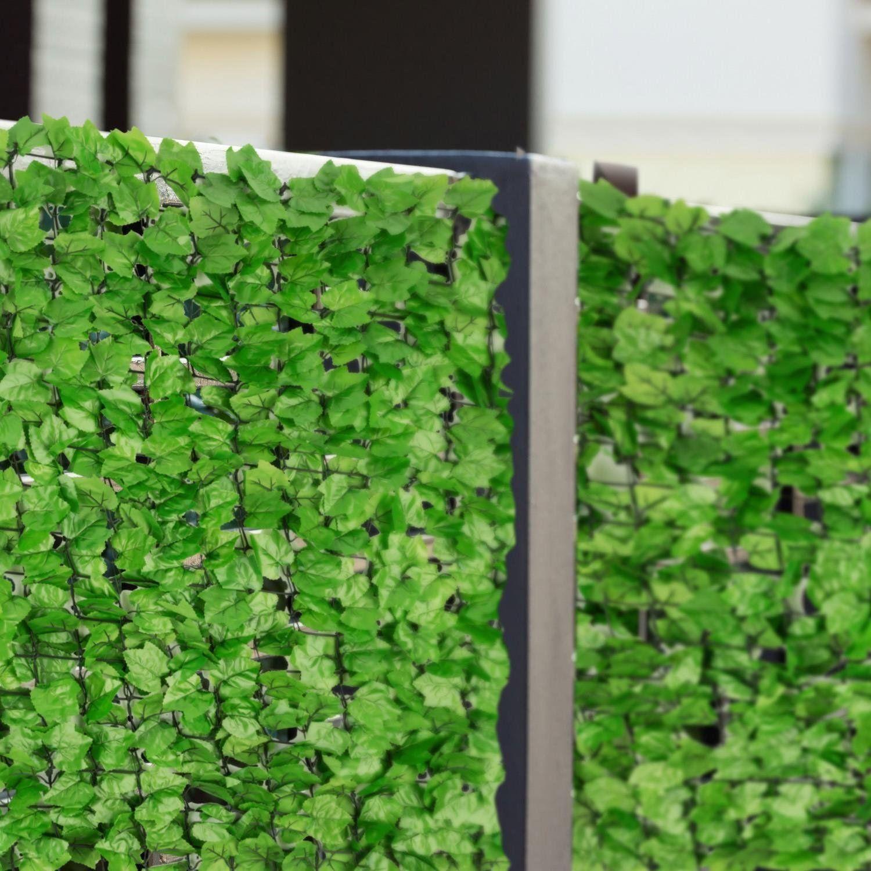 Amazon Blumfeldt Fency Dark Ivy Sichtschutzzaun Windschutz