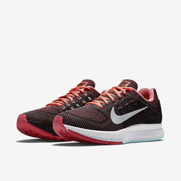 WOMENS NIKE AIR ZOOM STRUCTURE 18 SZ 7 683737 800 running shoes 2016 2017