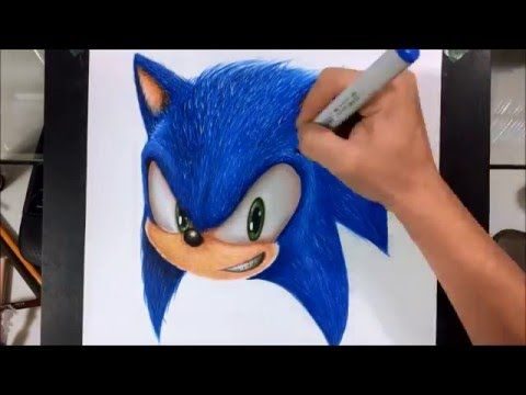 Drawing Realistic Sonic Drawings Hedgehog Drawing Sonic