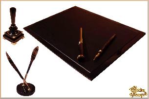 Письменный набор Ностальгия из обсидиана цена - Письменные наборы из обсидиана <- Вулкан Арт <- Подарки купить - Каталог | Купить подарки, Интернет-магазин подарков и сувениров