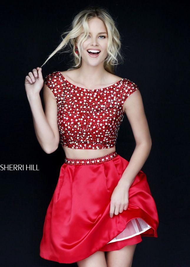 Short Sherri Hill 2015