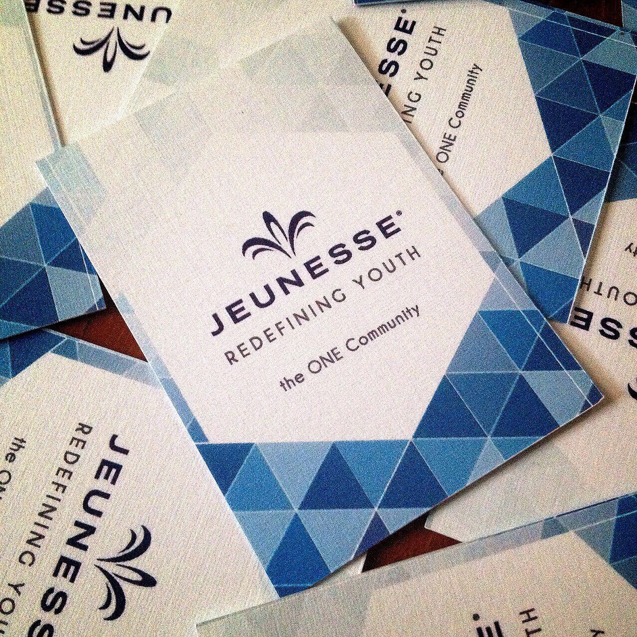 Name Card Design For Jeunesse Client Name Card Design