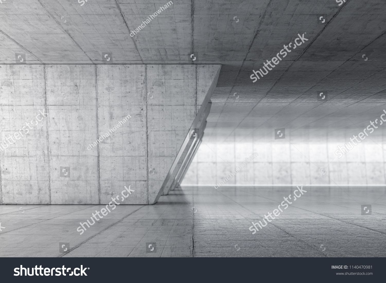 Cool Abstract Empty Space With Concrete Wall Modern Blank Download Free Architecture Designs Scobabritishbridgeorg