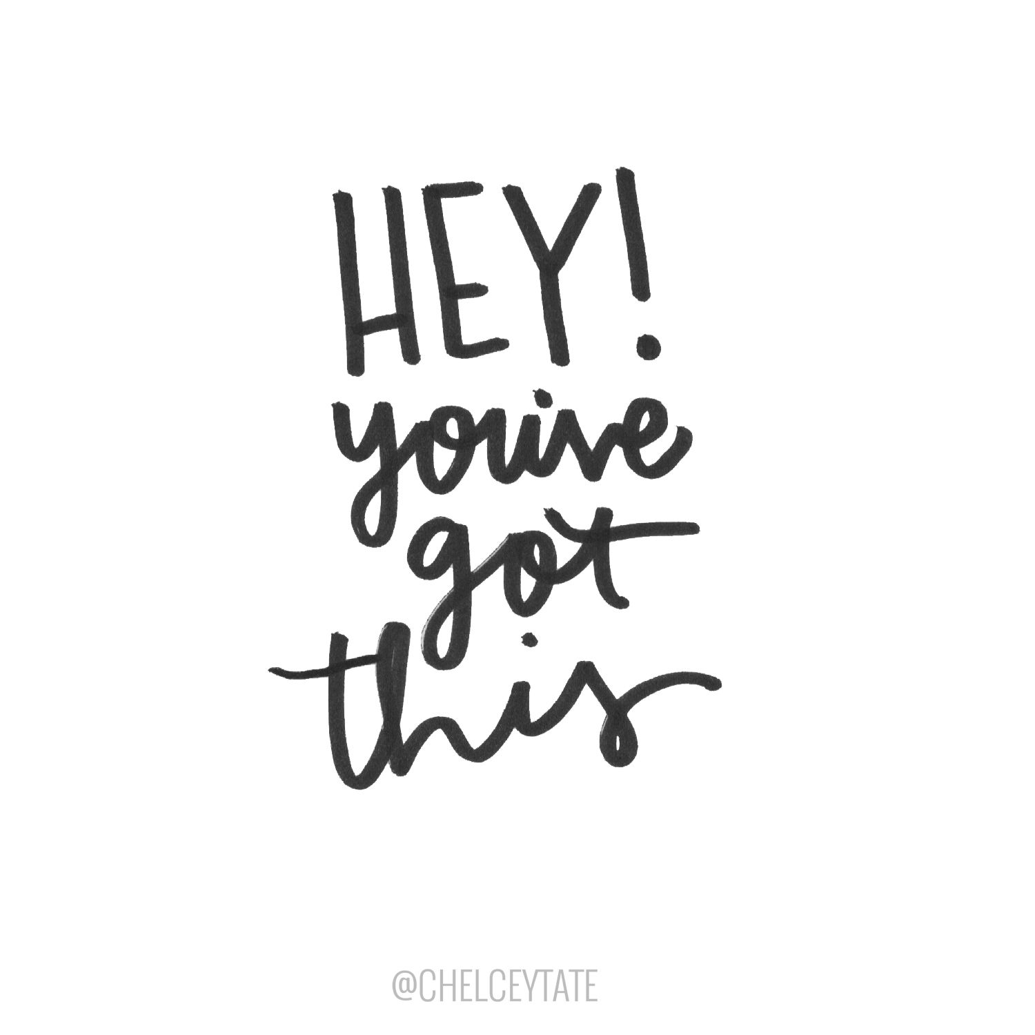 Hey! You've got this! Powerful quotes, Be yourself