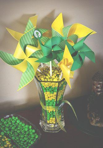 Inspiração Brasil na Copa do Mundo.  drinks - decor - comidas - verde -  amarelo - futebol - Brasil  eb3b885336