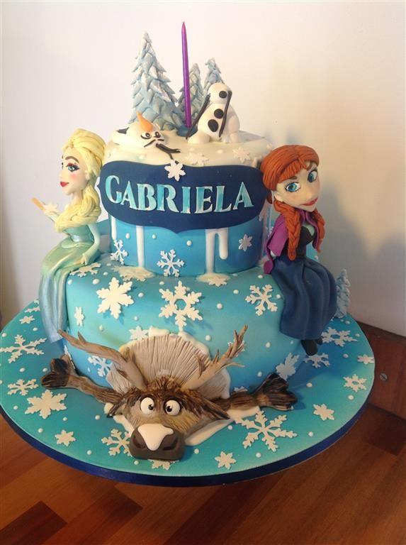 Bolo Frozen - Cake   Arquiteta do Bolo