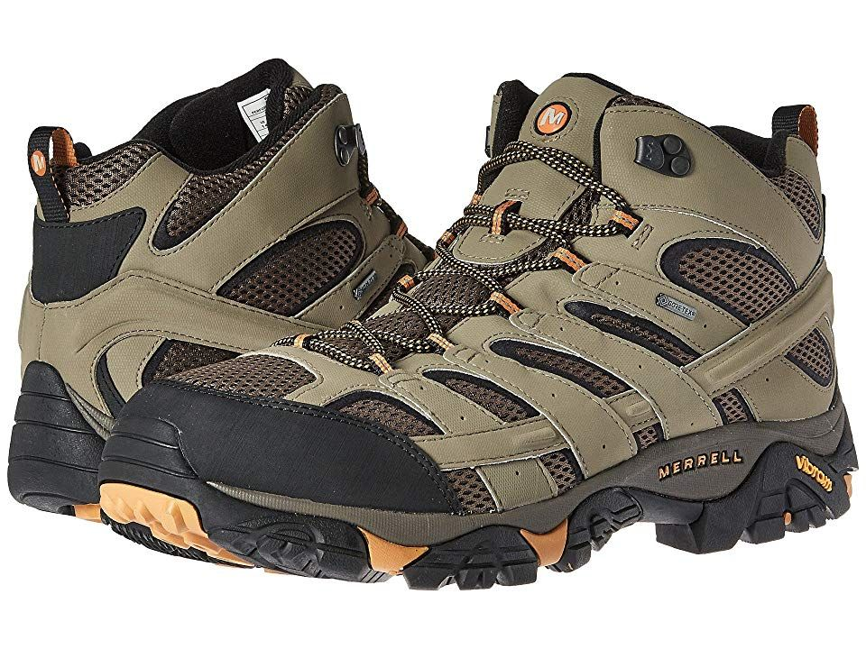 904ec90ed6da8 Merrell Moab 2 Mid GTX (Walnut) Men's Shoes. Gear up for a fun ...