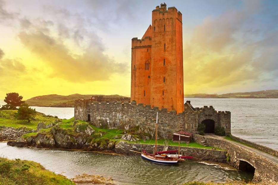 KILCOE CASTLE, County Cork, IRELAND. Owned and renovated