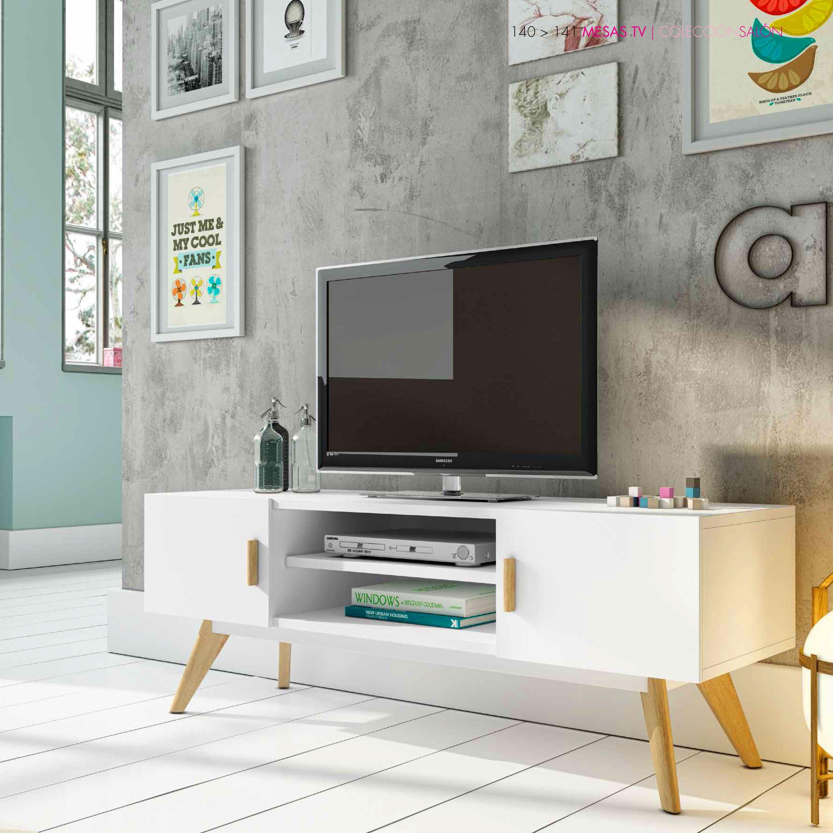 Mueble De Televisi N N Rdic 120cm Muebles De Television  # Muebles Filadelfia Para Estetica