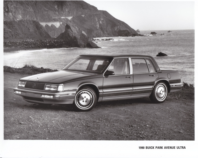 Buick Park Avenue Ultra Iaa Frankfurt Model Year 1990 Buick