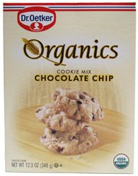 Organic Chocolate Chip Cookie Mix by Dr. Oetker Organics – VeganEssentials Online Store