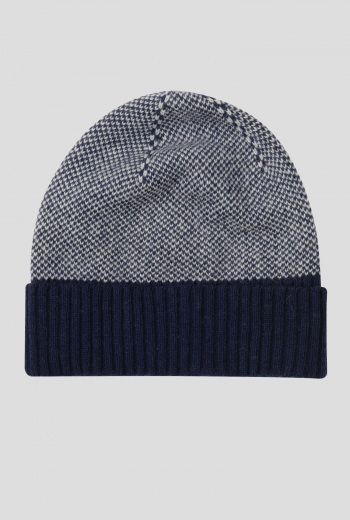 6cf263e29 Trudgewell Hat Mens | Warm, smart winter hat, in a birds eye ...