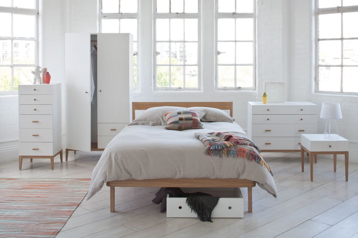 Tatsuma furniture gives a Scandi feel to your bedroom for a great ...