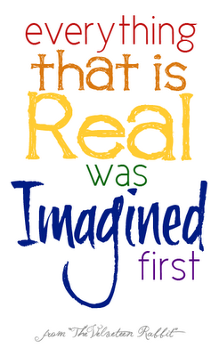 Remember to imagine!