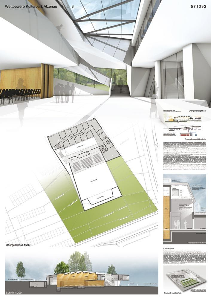 Kulturpark alzenau schrammen architekten rheims for Architektur layouts