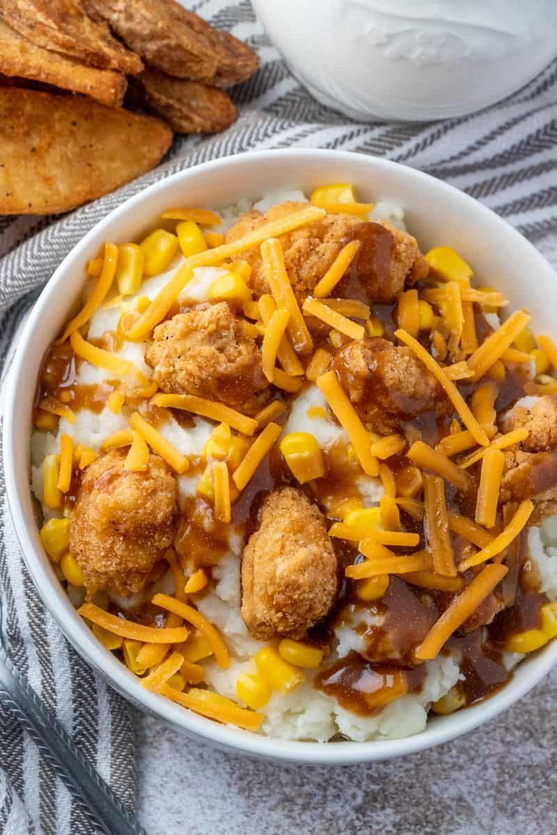 Copycat KFC Bowls - Tornadough Alli