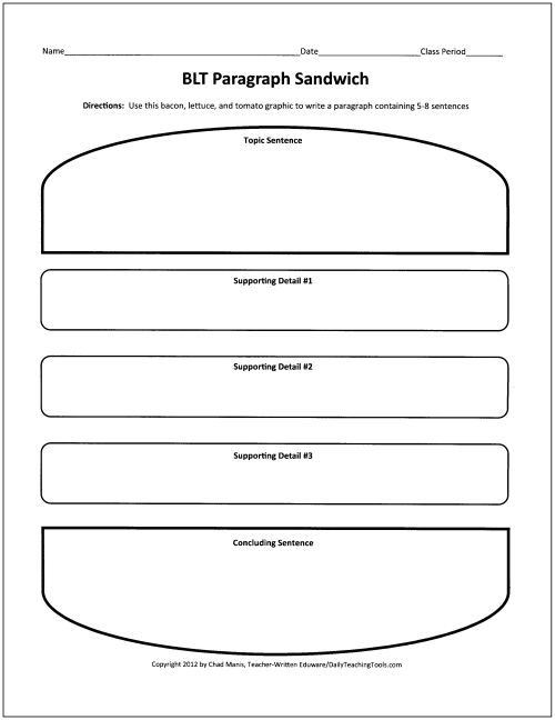 Free graphic organizers for teaching writing education for Prewriting outline template
