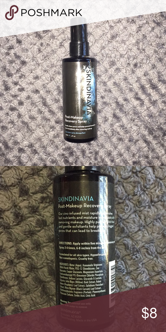 skindinavia PostMakeup spray NWT (With images) Makeup
