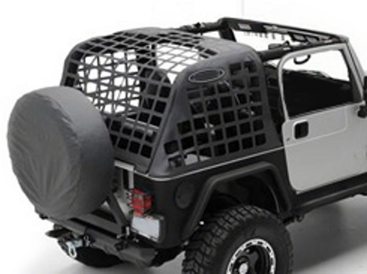 Smittybilt Cargo Restraint System 97 06 Jeep Wrangler Tj Jeep Wrangler Jeep Jeep Wrangler Yj