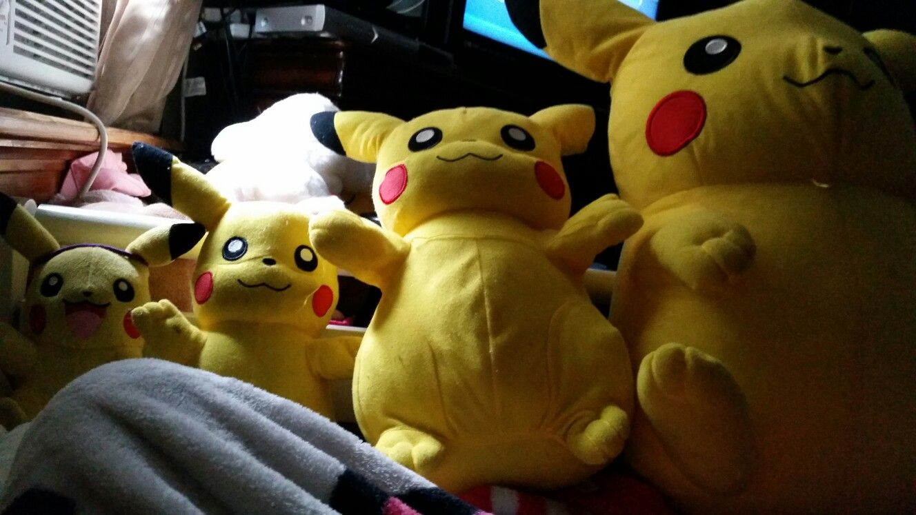 The Growing Process of Pikachu 😂 😃