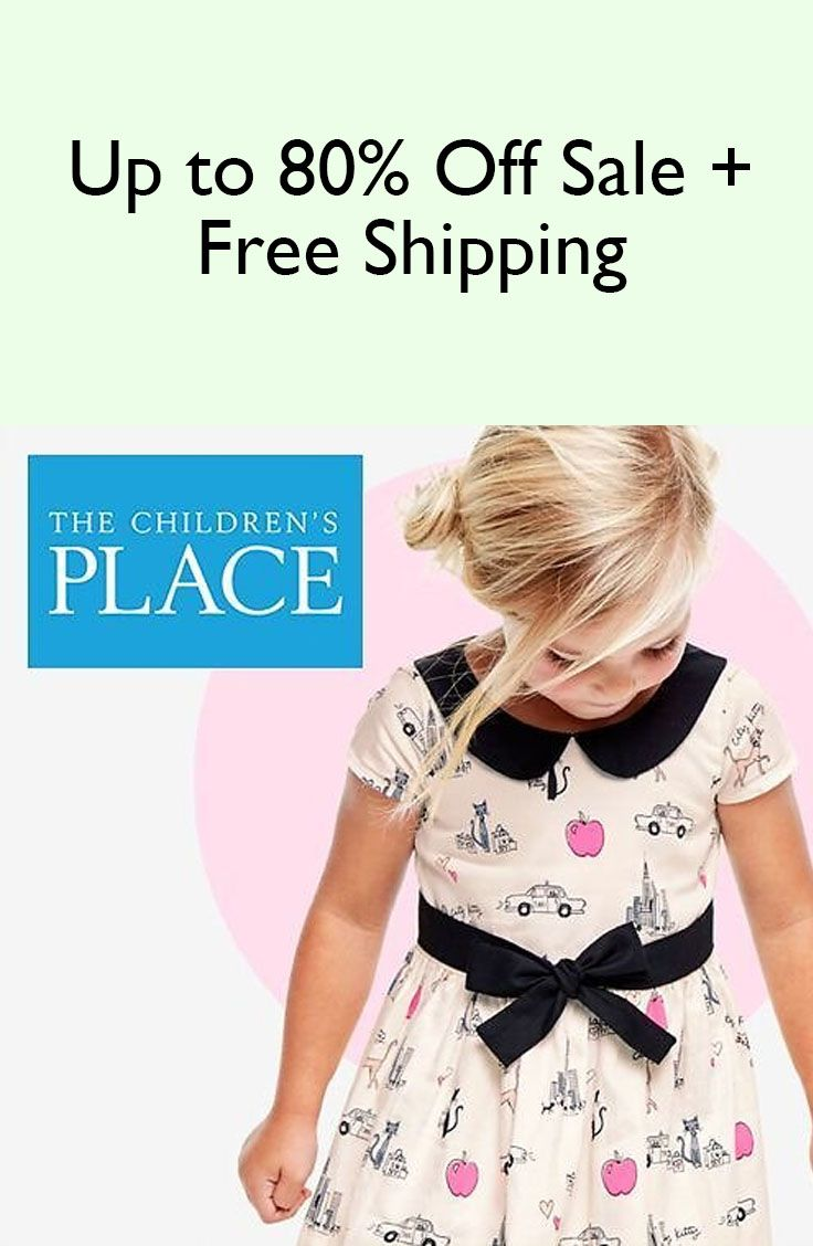 1d5d561de1f Up to 80% Off Sale + Free Shipping. Find this Pin and more on Discount Kids  Clothes Online ...