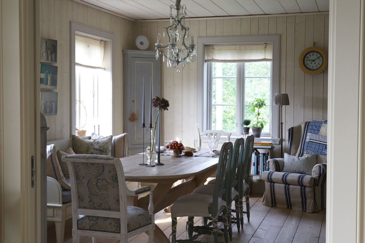 French And Swedish In Norway Inspiring Interiors Country Style Decor House Interior Home