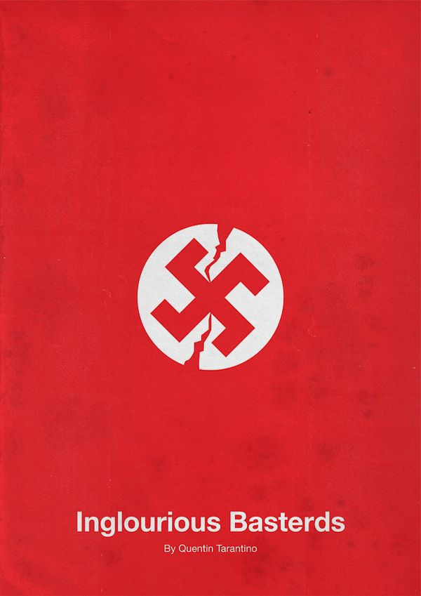 Inglourious Basterds (2009) ~ Minimalist Movie Poster by Eder Rengifo