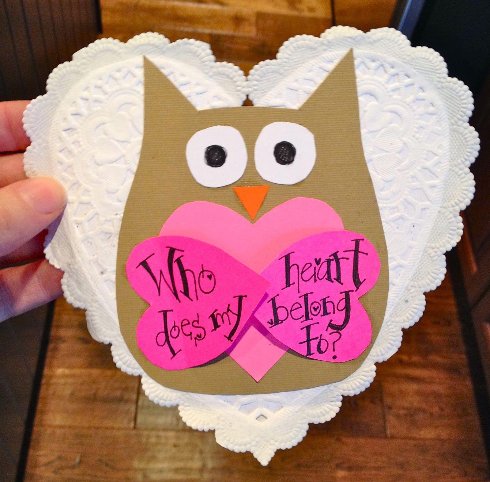 Miss Welden: Sunday School Valentine Craft | Crafts | Pinterest ...