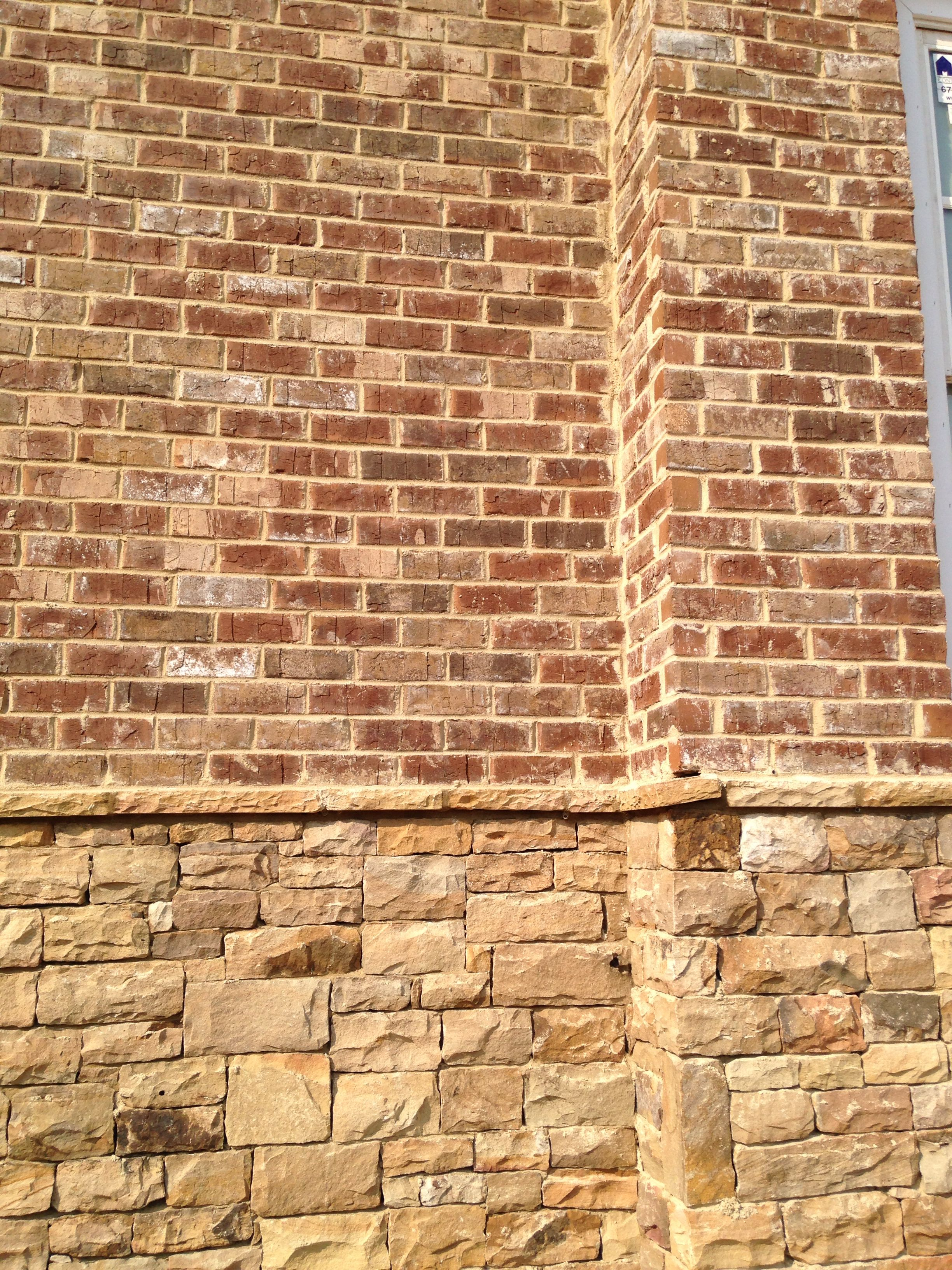 Brick Cypress Point Mortar Anti Buff Brick Close