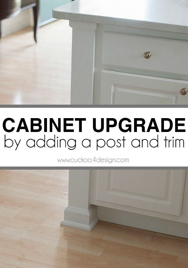 Adding A Kitchen Counter Post Diy Ideas Pinterest Kitchen