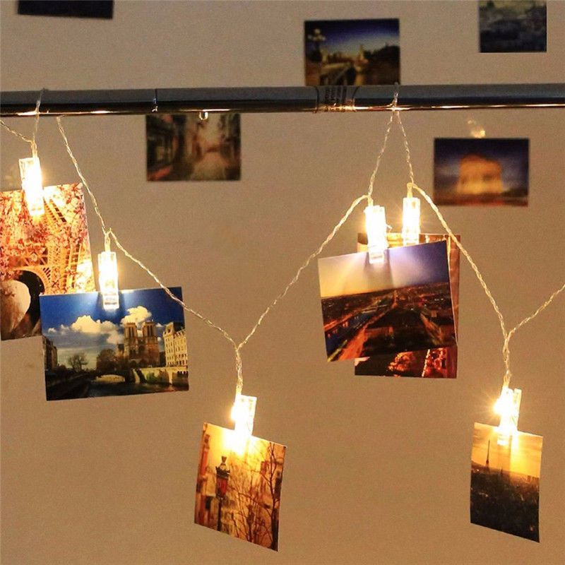 $199 - Photo Clip Led Fairy String Light Wedding Party Home Decor