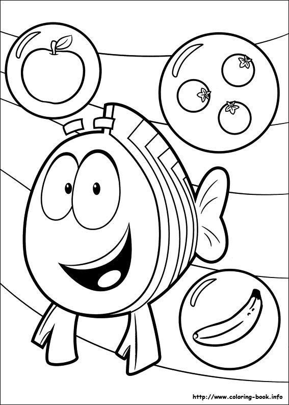 Bubble Guppies coloring picture | Coloring and Activities ...