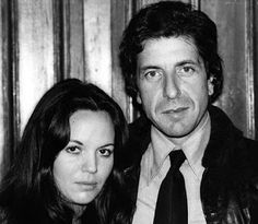 Suzanne Elrod (MOTHER OF HIS CHILDREN) & Leonard Cohen.