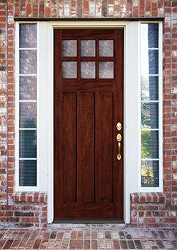 entry doors wood vs fiberglass doors and woods