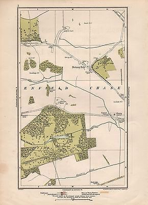 1923 london street map botany baytrent park view more