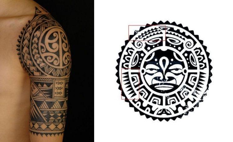 haifischz hne zeichen beim maori tribal tattoos tattoo pinterest abstrakte malerei. Black Bedroom Furniture Sets. Home Design Ideas