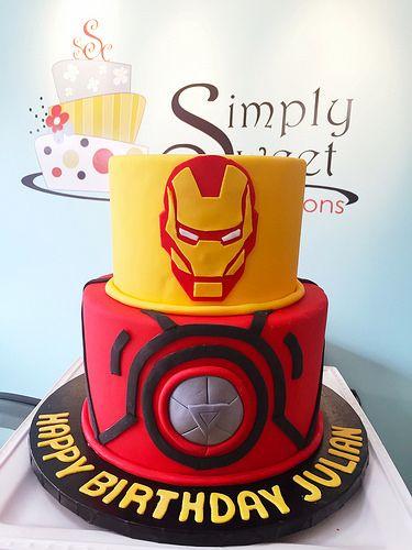 Gateau Anniversaire Iron Man Google Search Amazing Cakes Pinterest