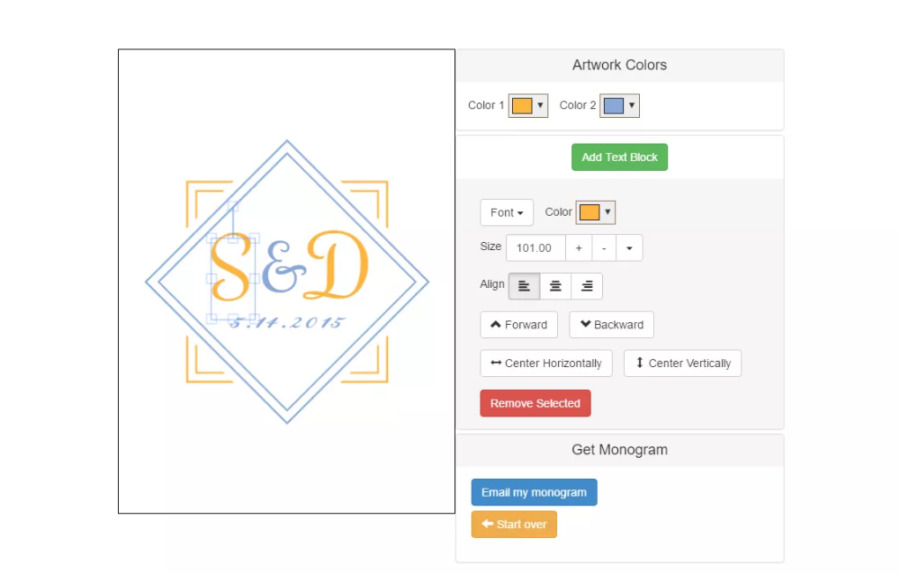 6 Free Monogram Makers Monogram generator, Monogram