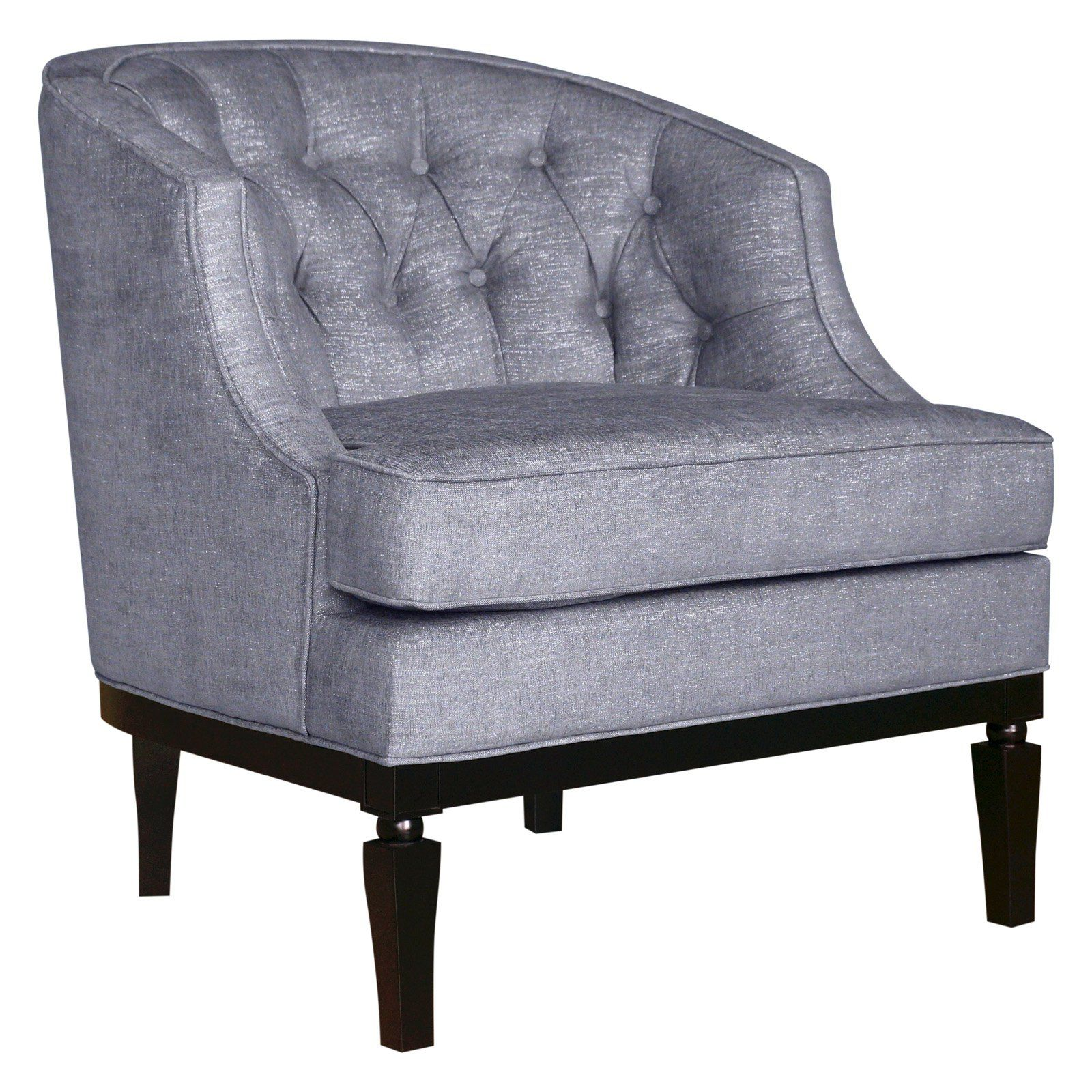 Hd Couture Sonya Stallion Accent Chair: HD Couture Ashley Gleam Linen Barrel Chair